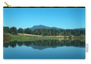 Mt Prevost Over Quamichan Lake Carry-all Pouch