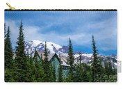 Mt Rainier And Paradise Inn Carry-all Pouch