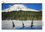 Mt Rainier And Three Trees Carry-all Pouch