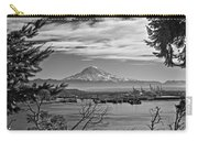 Mt. Rainier Over The Port Of Tacoma Carry-all Pouch
