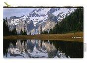 Mt. Rainier On Aurora Lake Carry-all Pouch