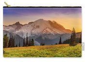 Mt. Rainier Sunset 2 Carry-all Pouch