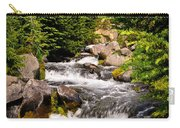 Mt. Rainier Waterfall Carry-all Pouch