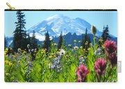 Mt. Rainier Wildflowers Carry-all Pouch