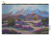 Mt. San Jacinto And Verbena Carry-all Pouch
