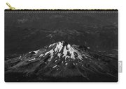 Mt Shasta Black And White Carry-all Pouch