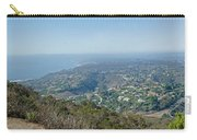 Mt. Soledad - View To The North Carry-all Pouch