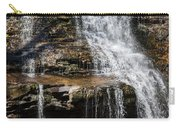 Muddy Creek Falls At Low Water At Swallow Falls State Park In Western Maryland Carry-all Pouch