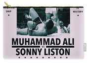 Muhammad Ali Poster Carry-all Pouch