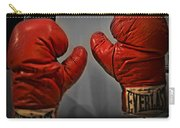 Muhammad Ali's Boxing Gloves Carry-all Pouch by Bill Cannon