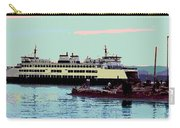 Mukilteo Clinton Ferry Panel 3 Of 3 Carry-all Pouch