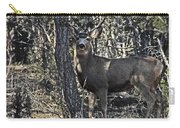 Mule Deer Buck Carry-all Pouch