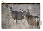 Mule Deer Does Carry-all Pouch