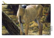 Mule Deer Fawn - Monarch Moment Carry-all Pouch by Crista Forest