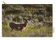 Mule Deer In Velvet   #2114 Carry-all Pouch