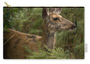 Mule Deer On Alert Carry-all Pouch