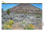 Mule's Ears And Schonchin Butte In Lava Beds Nmon-ca Carry-all Pouch