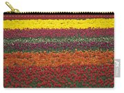 Mult-colored Tulip Field Carry-all Pouch