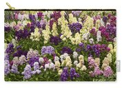 Multi-colored Blooms Carry-all Pouch