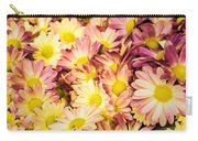 Multi-colored Daisies Carry-all Pouch