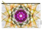Multi Flower Abstract Carry-all Pouch