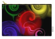 Multicolor Swirl Carry-all Pouch