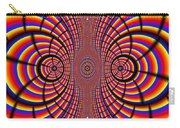 Multicolored Abstract Carry-all Pouch