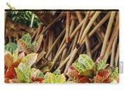 Multicolored Codiaeum Carry-all Pouch