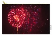Multicolored Fireworks Carry-all Pouch