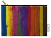 Multicolored Paint Can  Carry-all Pouch