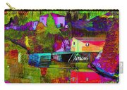 Multicolored Reflections Carry-all Pouch