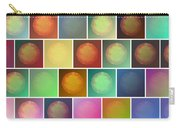 Multicolored Suns Carry-all Pouch