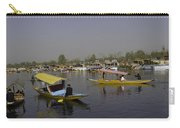 Multiple Number Of Shikaras On The Water Of The Dal Lake In Srinagar Carry-all Pouch