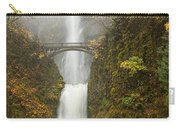 Multnomah Autumn Mist Carry-all Pouch by Mike  Dawson