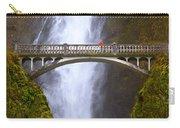 Multnomah Falls Bridge In Oregon Carry-all Pouch
