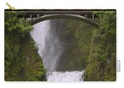 Multnomah Falls Oregon Carry-all Pouch by Gary Grayson