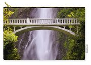 Multnomah Falls Silk Carry-all Pouch