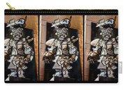 Mummer Man Triptych Carry-all Pouch