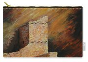 Mummy Cave Ruins II Greeting Card Carry-all Pouch
