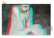Mummy Dearest - Use Red-cyan Filtered 3d Glasses Carry-all Pouch