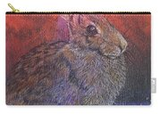 Munching On Clover Carry-all Pouch by Sari Sauls