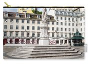 Municipal Square In Lisbon Carry-all Pouch
