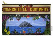 Mural Bandon Mercantile Company Carry-all Pouch