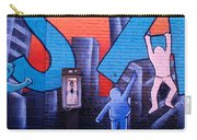 Mural, Nyc, New York City, New York Carry-all Pouch