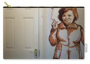 Mural Of Mccourts Mother Angela Carry-all Pouch