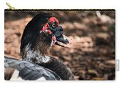 Muscovy Feathers Carry-all Pouch