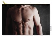 Muscular Handsome Man  Carry-all Pouch