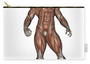 Muscular Man Standing Carry-all Pouch