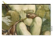 Muse With Lute Carry-all Pouch