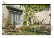 Museum Courtyard - Beautiful Courtyard Of The Pacific Asia Museum In Pasadena. Carry-all Pouch